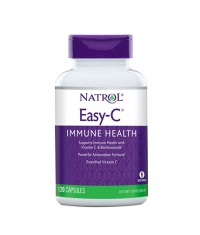 NATROL Easy-C 500mg+Citrus Bioflavonoids / 120 Caps