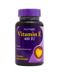 NATROL Vitamin E 400IU 30 softgels