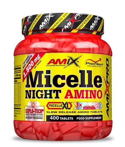 AMIX Micelle Night Amino / 400 Tabs.
