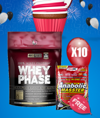 PROMO STACK WHEY MASSTER 1+1 FREE