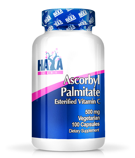 HAYA LABS Ascorbyl Palmitate 500 mg. / 100 caps.