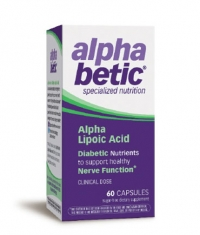 ENZYMATIC THERAPY AlphaBetic Alpha Lipoic Acid 200mg. / 60 Caps.