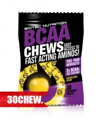 SCITEC BCAA Chews / 30 Chew.