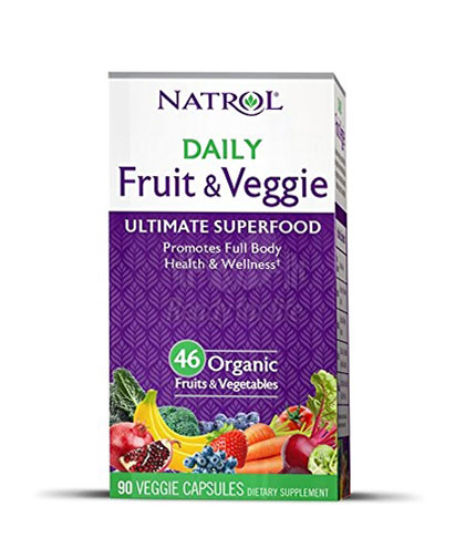 NATROL Daily Fruit and Veggie / 90 Caps.