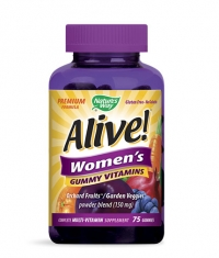NATURES WAY Alive Women's Gummy Vitamins 150mg. / 75 Gummies