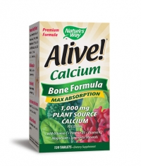NATURES WAY Alive Calcium Bone Formula 1000mg. / 120 Tabs.