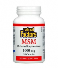 NATURAL FACTORS MSM 1000mg. / 90 Caps.