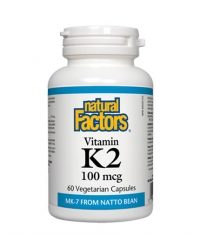NATURAL FACTORS Vitamin K2 100mcg. / 60 Vcaps.