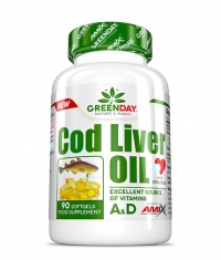 AMIX Greenday Cod Liver Oil / 90 Soft.