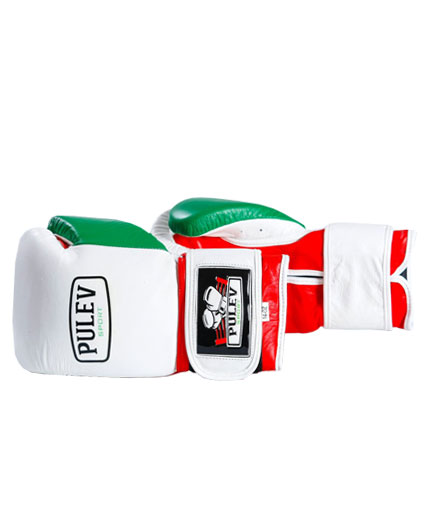 PULEV SPORT Bul Power Boxing Gloves w/ Velcro