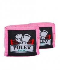 PULEV SPORT Hand Wraps / Pink