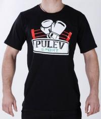 PULEV SPORT Pulev Sport T-Shirt / Black