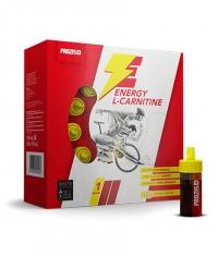 PROZIS Energy Carnitine 3000 + Guarana & Taurine / 10 Amp.