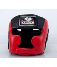 PULEV SPORT Headguard Cheek Protect / Red-Black