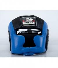 PULEV SPORT Headguard Cheek Protect / Blue-Black