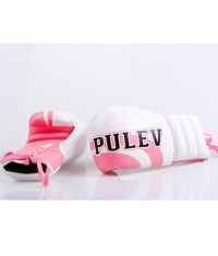 PULEV SPORT Women Boxing Gloves / Girl Laces