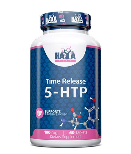 HAYA LABS 5-HTP Time Release 100 mg. / 60 Tabs