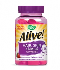 NATURES WAY Alive!® Hair, Skin & Nails Gummies