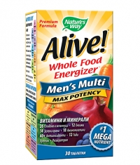 NATURES WAY Alive!®  Men's Multi  Max Potency / 30 Tabs.