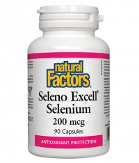 NATURAL FACTORS Seleno Excell 200 mcg x 90 caps.