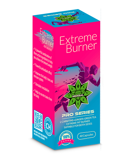 CVETITA HERBAL Extreme Burner / 40 Caps.