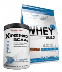 PROMO STACK Whey Build 2.0 / Xtend Stack