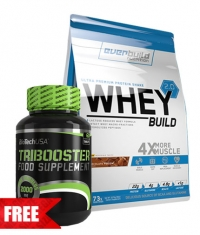 PROMO STACK Whey Build 2.0 / Tribooster 1+1 FREE