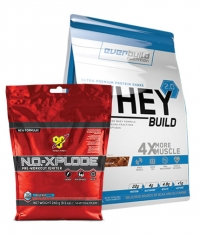 PROMO STACK Whey Build 2.0 / N.O. Xplode Stack