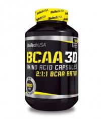 BIOTECH USA BCAA 3D / 180 Caps.