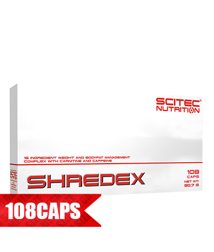 SCITEC Shredex / 108 Caps.