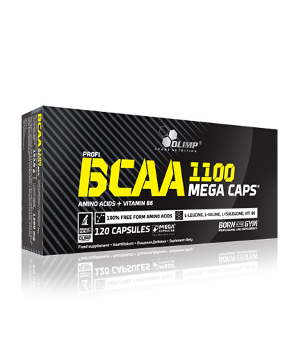 OLIMP BCAA Mega Caps 1100mg. / 120 Caps.