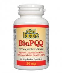 NATURAL FACTORS BioPQQ 20mg. / 30 Vcaps.