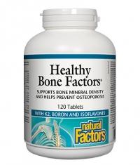 NATURAL FACTORS Healthy Bone Factors 624mg. / 120 Tabs.
