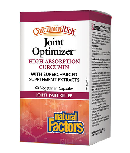 NATURAL FACTORS Joint Optimizer 555mg. / 60 Vcaps.