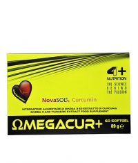 4+ NUTRITION OMEGACUR+ / 60 Soft.