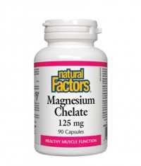 NATURAL FACTORS Magnesium Chelate 125mg. / 90 Caps.