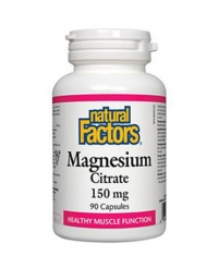 NATURAL FACTORS Magnesium Citrate 150mg. / 90 Caps.