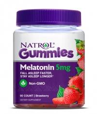 NATROL Gummies Melatonin 5mg. / 90 Gummies