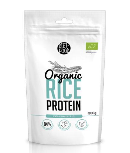 DIET FOOD Organic Rice Protein