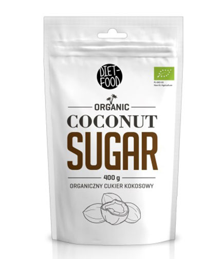 DIET FOOD Organic Coconut Sugar 0.400