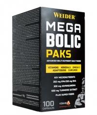 WEIDER Mega Bolic Paks / 100 Caps.