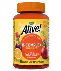 NATURES WAY Alive B-Complex Gummies / 60 Gummies