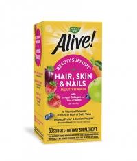 NATURES WAY Alive Hair, Skin & Nails 1040mg. / 60 Soft.