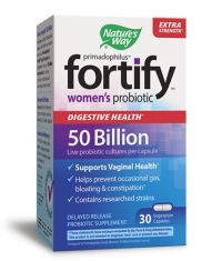 NATURES WAY Primadophilus Fortify Women's 50 Billion Probiotic / 30 Vcaps.