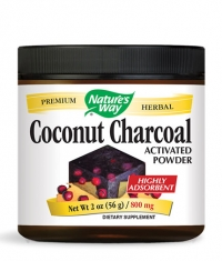 NATURES WAY Coconut Charcoal (Activated Powder) 800mg.