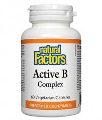 NATURAL FACTORS Active B Complex / 60 Vcaps.