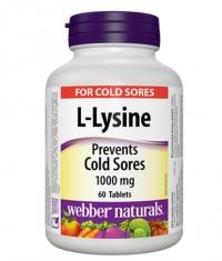 WEBBER NATURALS L-Lysine 1000mg / 60Tabs.