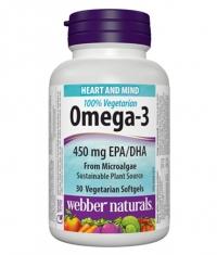 WEBBER NATURALS Omega-3 100% Vegetarian / 30Vcaps.
