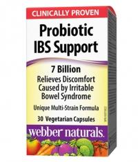 WEBBER NATURALS Probiotic IBS Support 7 Billion / 30Vcaps.