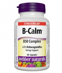 WEBBER NATURALS B-Calm® B50 Complex / 60Caps.